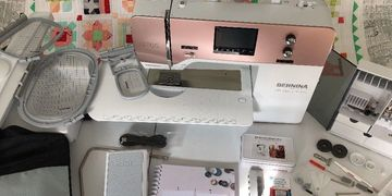 Bernina 765 SE Special Edition Rose Gold Sewing Machine