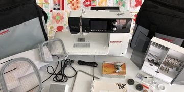 Used Bernina B 580 Sewing Quilting Embroidery Machine For Sale