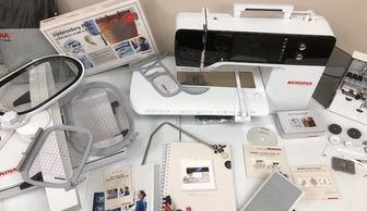 Picture of Bernina 790 Plus Sewing, Embroidery, and Quilting Machine.