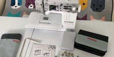 Used Bernina 350 SE Special Edition Best Friend Sewing Machine For Sale