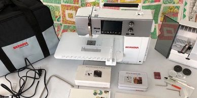 Used Bernina B 570 QE Quilters Edition Sewing Quilting Embroidery Machine For Sale