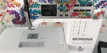 Used Bernina 350 SE Special Edition Ricky Tims Sewing Machine For Sale