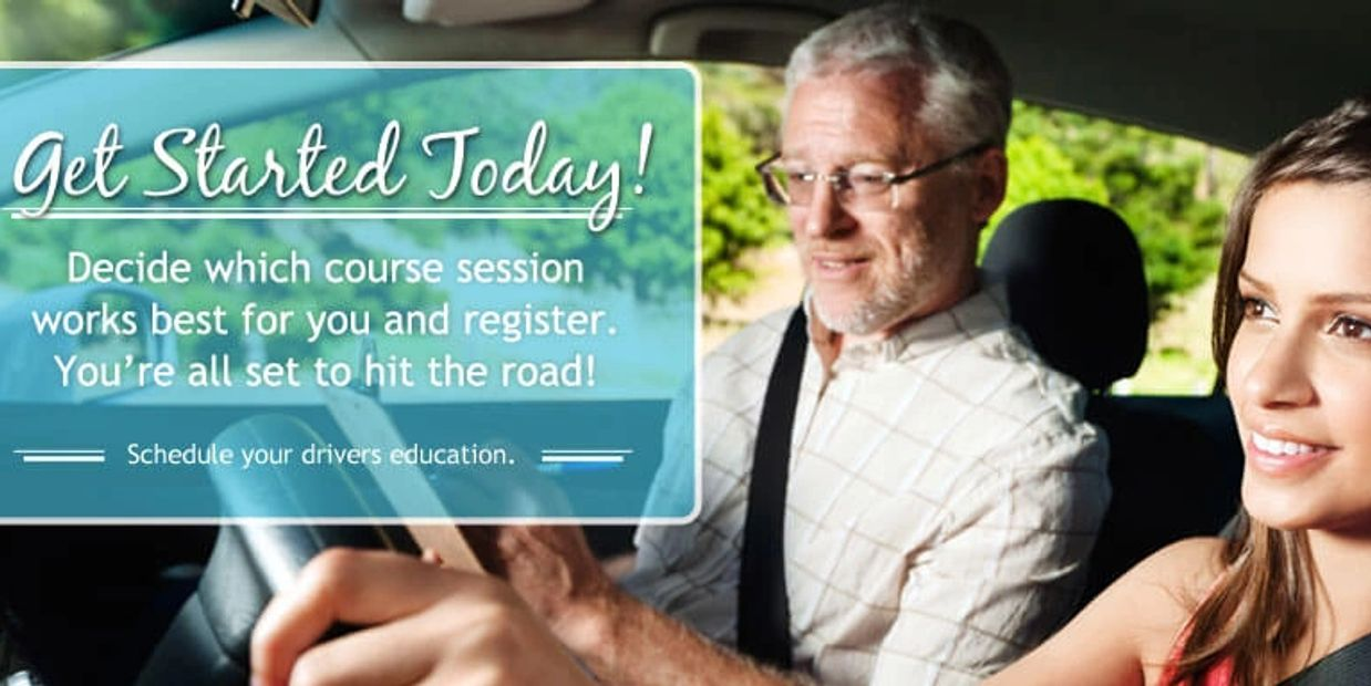 Get Started Today Decide which course works for you and register You're all set to hit the road