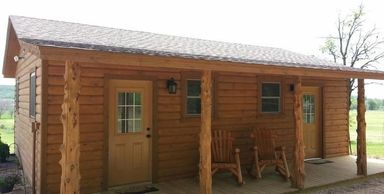 Grooms Bunkhouse at Moore Farms Rustic Weddings and Event Barns