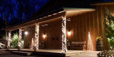 Moore Farms Rustic Weddings and Event Barns Pryor OK  The Hitching Barn
