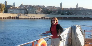 River cruising, Arles, France