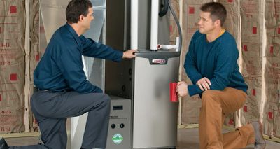 Heating and Air Conditioning Indoor furnace Units