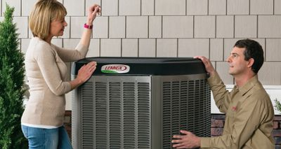 Air Conditioners and Heat Pumps outdoor unit