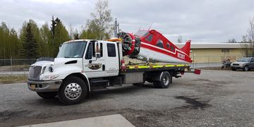 Airplane moving, hauling, relocate