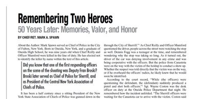 New York State Chief's of Police magazine