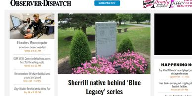 Utica Oberver-Dispatch reporter Jolene Cleaver writes about the docu-series, Blue Legacy.
