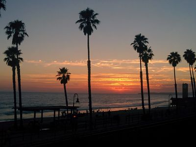 Sunset from San Clemente, CA  Restaurant
