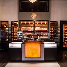 Uptown Park Cigar Lounge Humidor