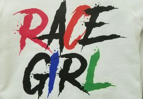 Race girl toddler t-shirt
