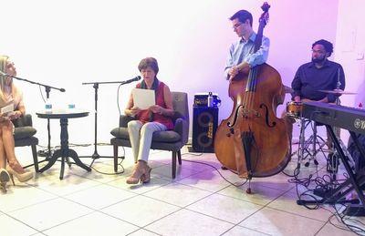 Literary Salon with Jazz