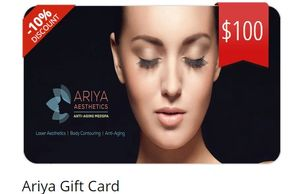 A GIFT OF BEAUTY IS A GIFT OF LOVE - E Gift cards at Ariya Aesthetics