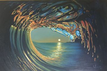 Ocean art, Waves, Wave art, Surf art, oil paintings, paintings of waves,