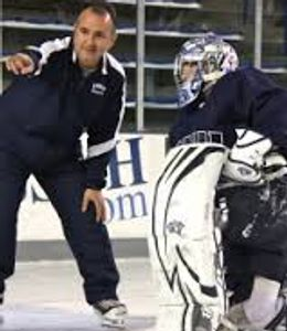 Goalie coach at UNH