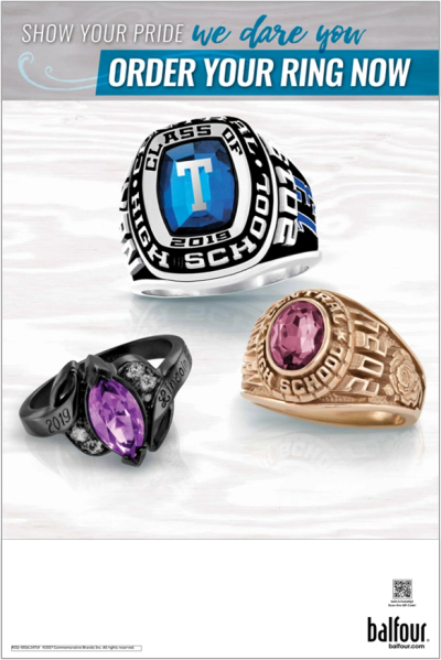 Click the image above to see the many class ring options Balfour has to offer, and order yours now!
