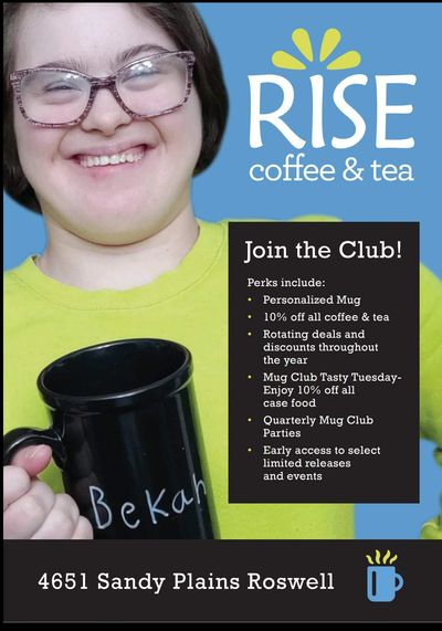 Join the mug club and support a local coffee ship providing enjoyment for people with special needs