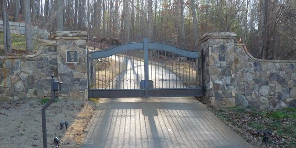 The best of Atlanta custom wrought iron gate and fence company.