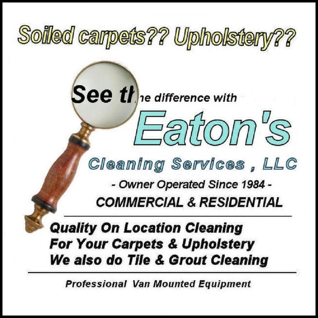 Welcome to Eaton's Cleaning Services