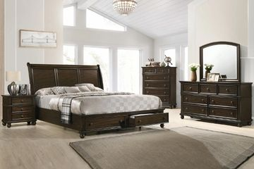 Storage bedroom set