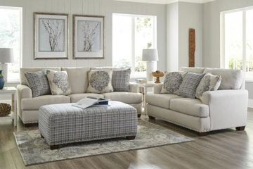 Sofa and Loveseat Living Room Furniture Set