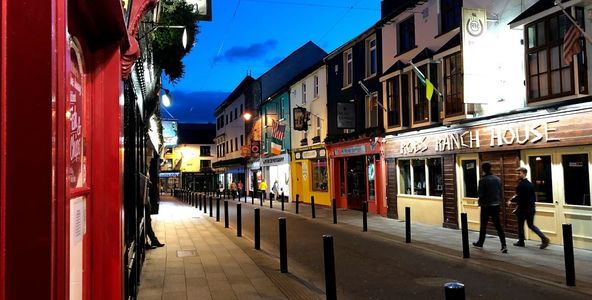 Killarney Ireland, about 11:00 pm, and the sky is still bright in June!