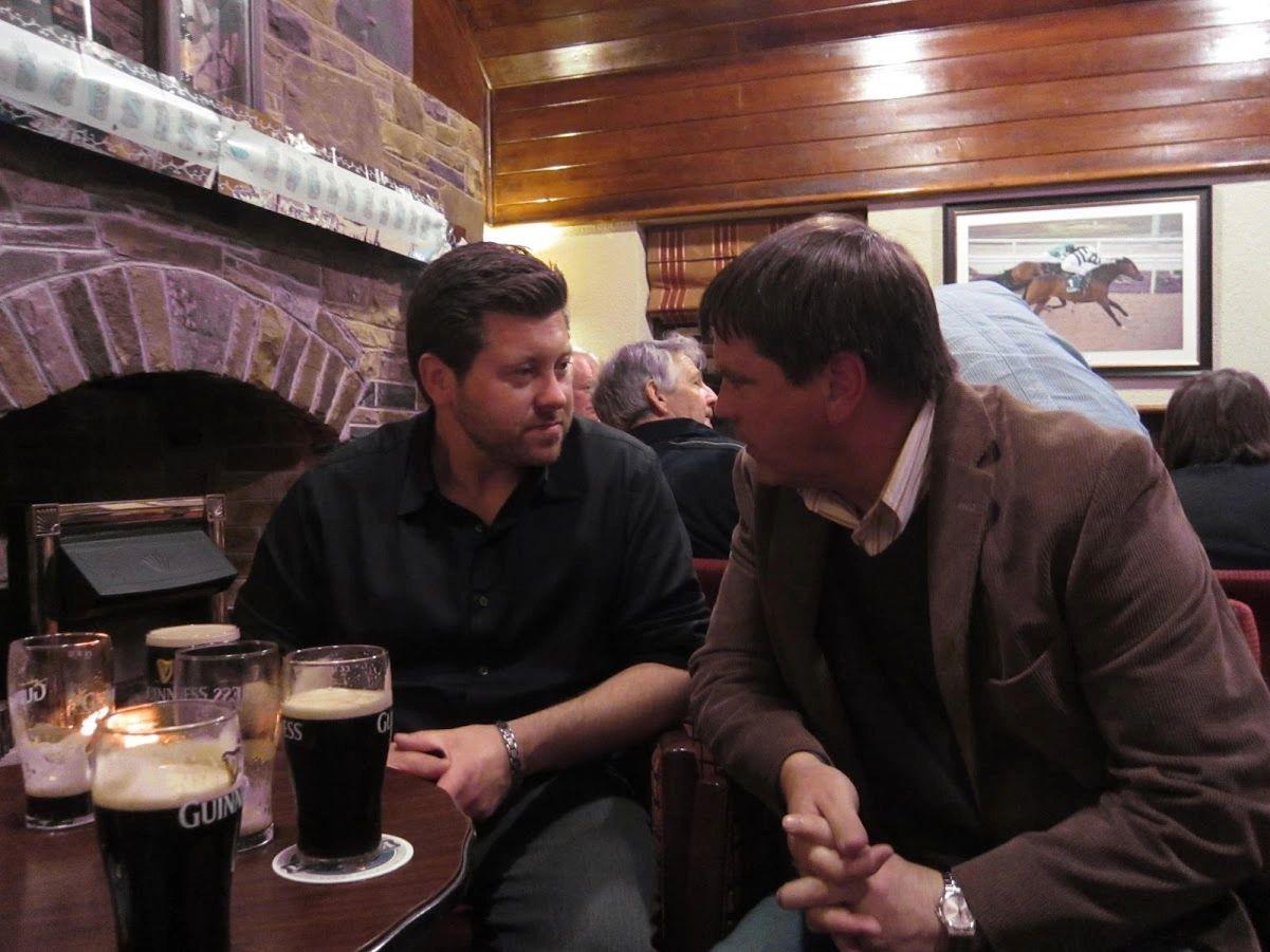 Pints at Doyle's Pub