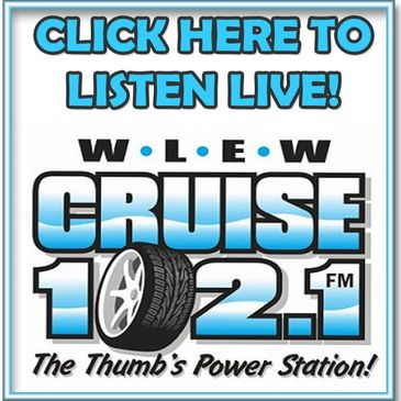 Streaming live. 102.1 WLEW Bad Axe Mi.
