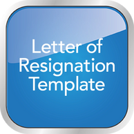Letter of Resignation Template