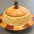 Peter Huckstep - Box Made from Scraps to Resemble a Saucer - Closed