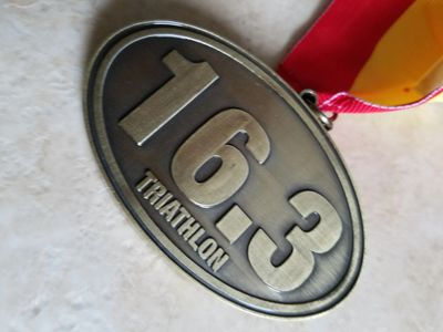 The 16.3 logo has been the brand and medal of the event since 2009.