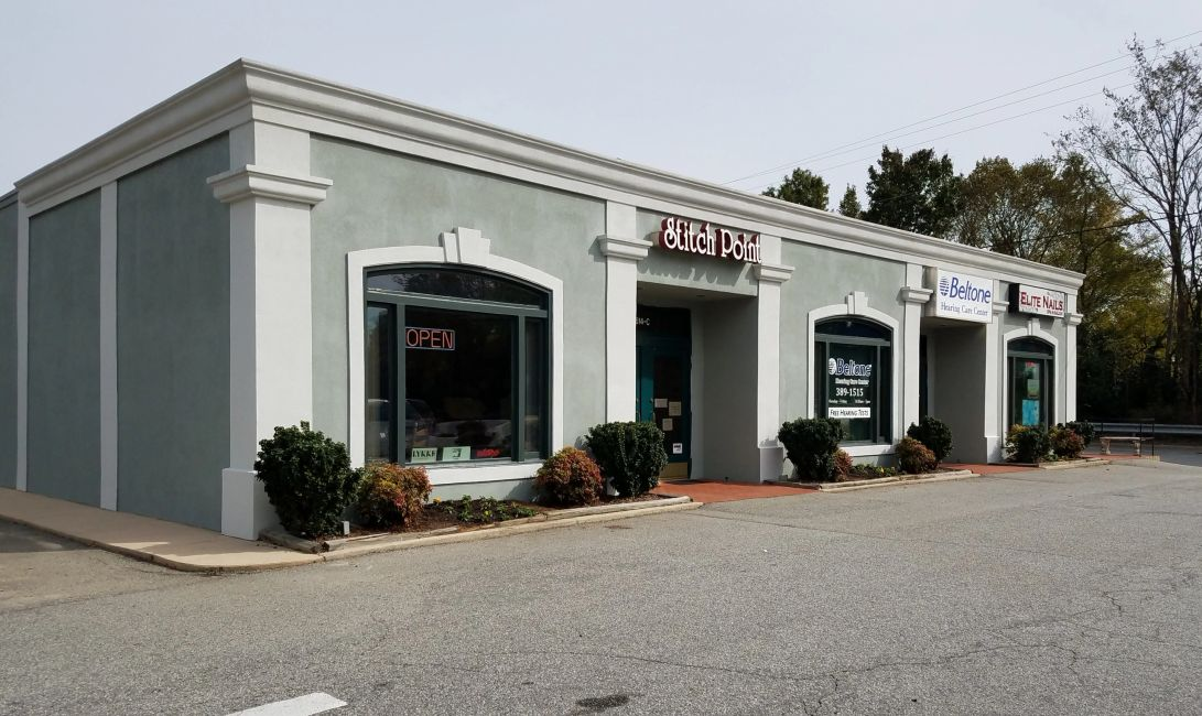 Our location is 1614- C West Friendly Ave Greensboro, NC 27408