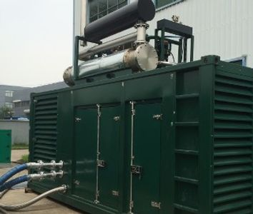 CHP engine suitable for businesses on and off the mains gas grid.