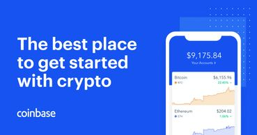 Crypto investments using coinbase