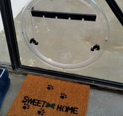All members of your household deserve a proper entrance!  We deliver custom pet doors