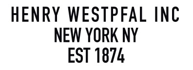 HENRY WESTPFAL COMPANY INC.