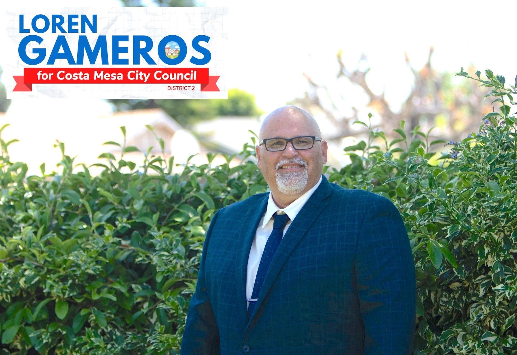 Loren Gameros for Costa Mesa City Council District 2 in 2020, Council Campaign Headshot