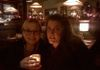 The Editor Devil, Christine Fairchild, and I looking mysterious.