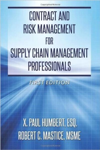 Supply chain management books Supply chain management contracts
