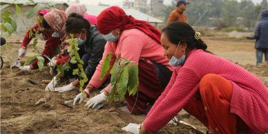 Sustainable agriculture and employing women