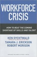 "Cover art for ""Workforce Crisis - How to Beat the Coming Shortage of Skills and Talent"""