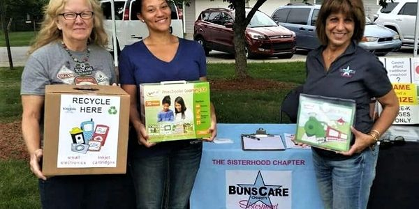 Buns Care Sisterhood Chapter free preschool pre-k education at home volunteer help kids children