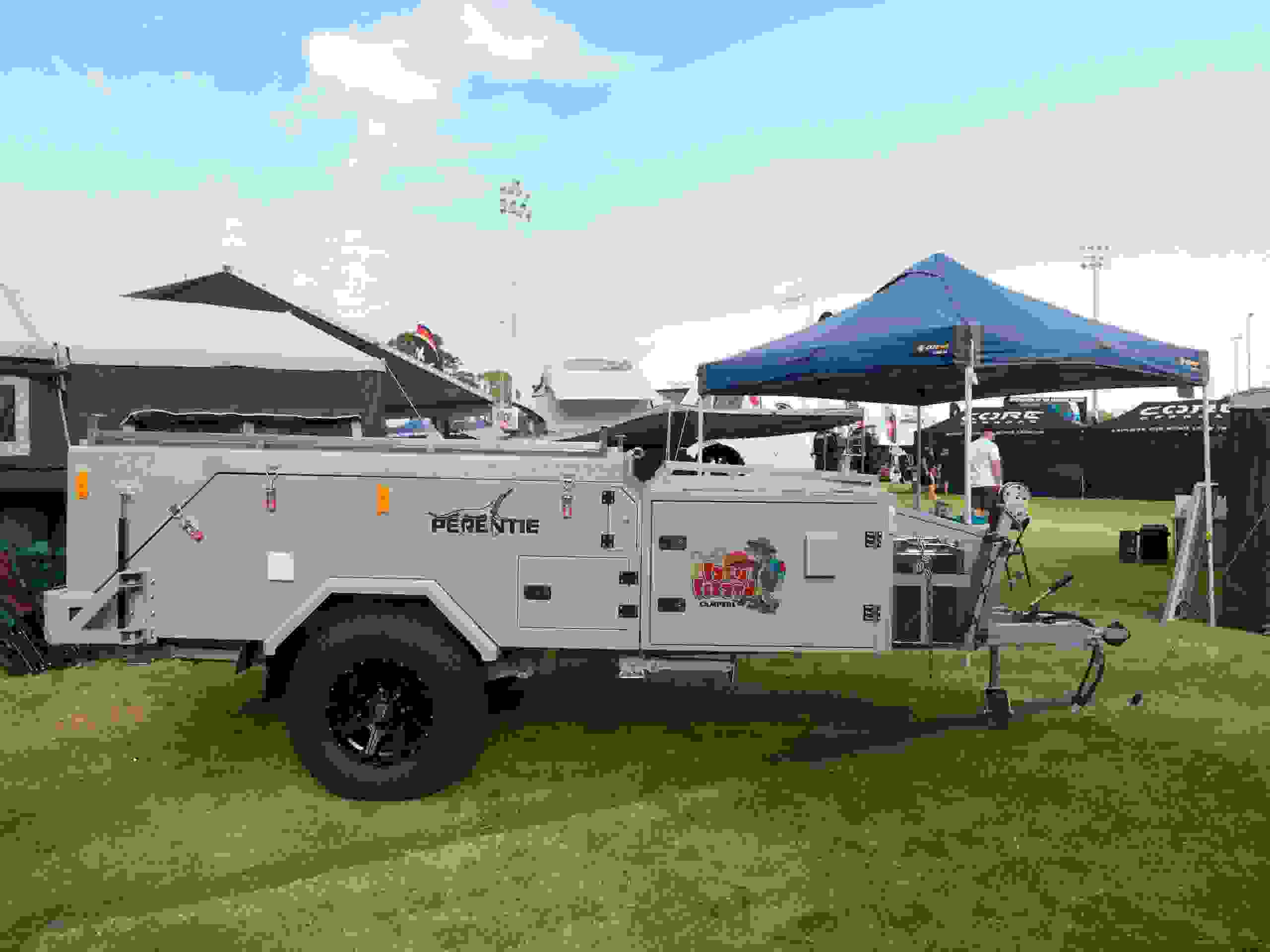 The Perentie camper trailer at te Mandurah show.