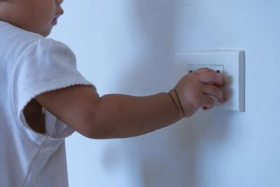 Protect your children without the inconvenience of plastic outlet covers.  Saves time and frustration, and keeps your kids safe.  Call Mick's Electric to learn more about child proof outlets also known as TRR tamper resistant receptacles.