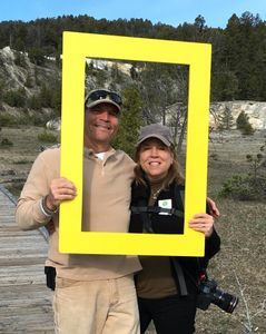 The Traveling Fullerton's at Yellowstone with National Geographic's YourShot.