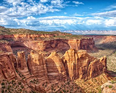 Colorado National Monument Coke Ovens landscape Photography by Donna Fullerton