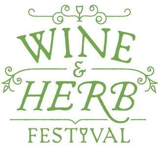 Wine and Herb wine trail event logo